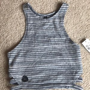 New with tags unlined sports bra